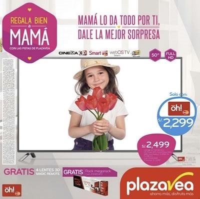 dia de la madre 2015 catalogo plaza vea electro tecnologia