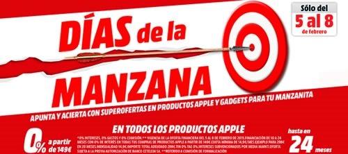 dias de la manzana 2015 ofertas en media markt