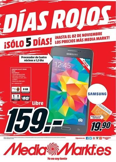 dias rojos mediamarkt octubre noviembre 2015