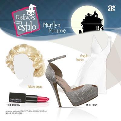 disfraces de halloween fashion con andrea 2013 mexico marilyn