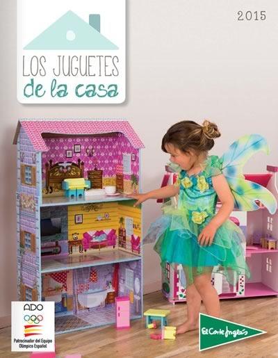 el corte ingles catalogo los juguetes de la casa 2015