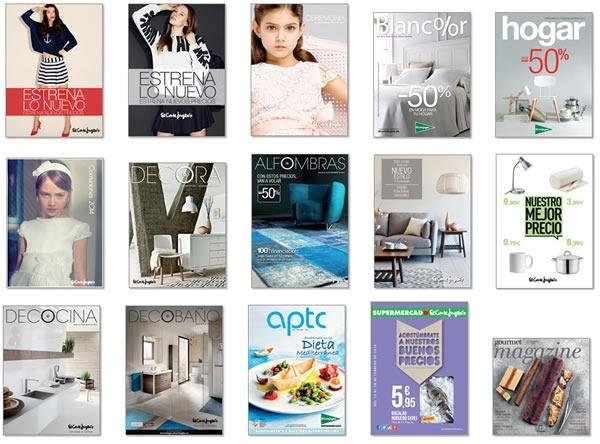 el corte ingles catalogos de moda electro comida hogar 2014