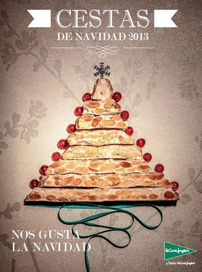 el corte ingles cestas navidad 2013 espana