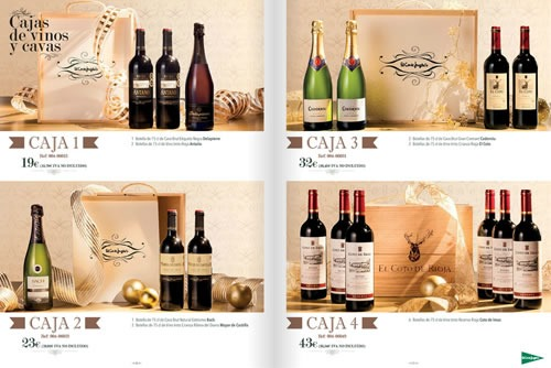 el corte ingles cestas navidad 2013 espana 2