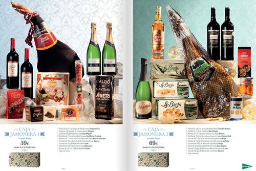 el corte ingles cestas navidad 2013 espana 3