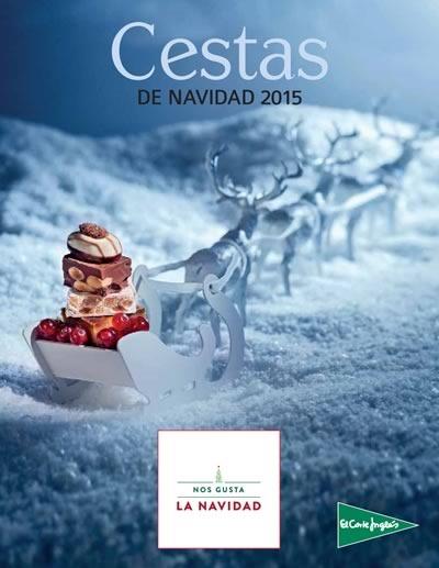 el corte ingles cestas navidad 2015