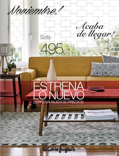 el corte ingles estrena lo nuevo muebles decoracion 2013 espana