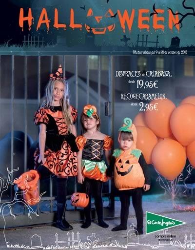 el corte ingles halloween 2015