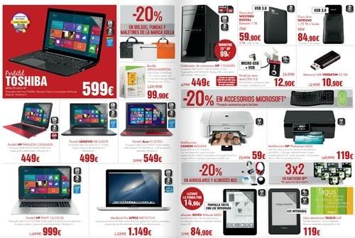 el corte ingles ofertas tecnologia hasta 17  julio 2014