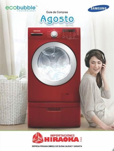 electrodomesticos baratos hiraoka agosto 2014