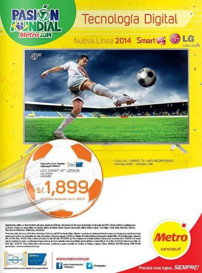 encarte ofertas metro electro mundial junio 2014