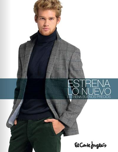 estrena lo nuevo del corte ingles moda caballeros 2013 espana