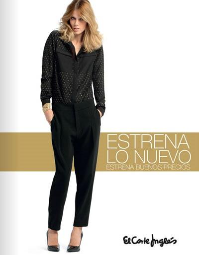 estrena lo nuevo del corte ingles moda damas 2013 espana