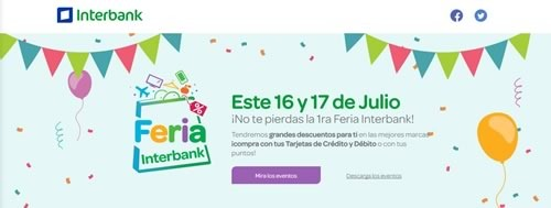 feria interbank 16 17 julio 2016