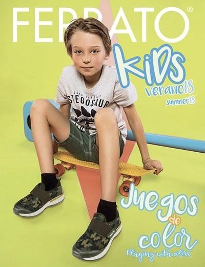 ferrato kids calzado verano 2018