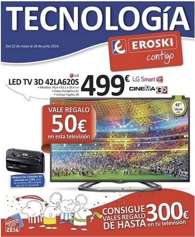 folleto eroski tecnologia junio 2014 espana