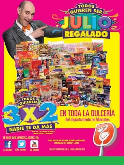 folleto julio regalado 2015 del 9 al 18 de junio tijuana