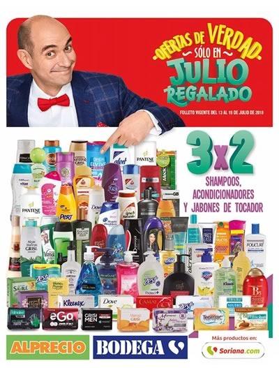 folleto julio regalado 2018 ofertas 3x2 al 19 julio mega soriana