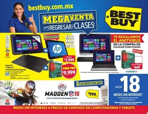folleto ofertas best buy megaventa para regresar a clases 28 agosto al 3 septiembre 2014