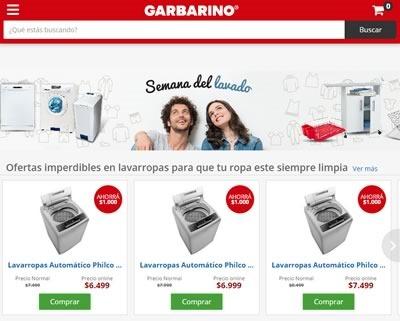 garbarino ofertas semana del lavado agosto 2015