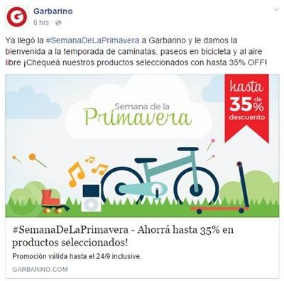 garbarino semanadelaprimavera ofertas 2015