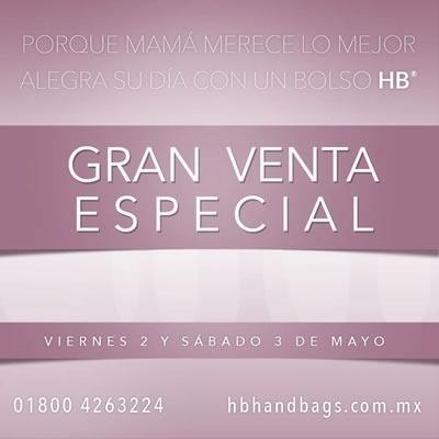 gran venta especial bolsos hb handbags mayo 2014