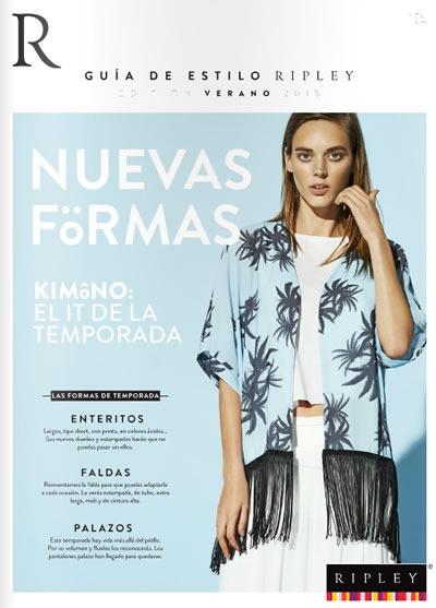 guia de estilo edicion verano 2014 nuevas formas y tendencias de moda ripley