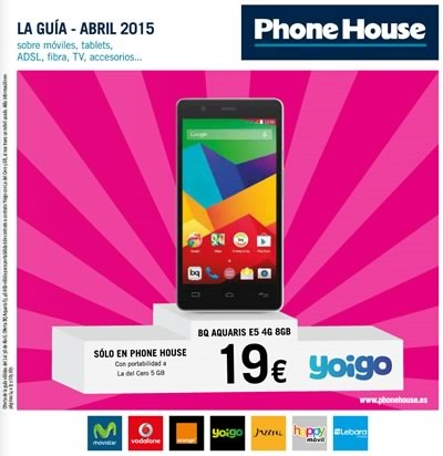 guia ofertas celulares abril 2015 phone house