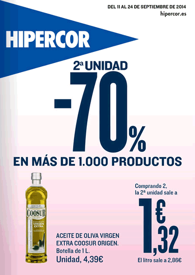 hipercor catalogo de ofertas hasta 24 septiembre 2014
