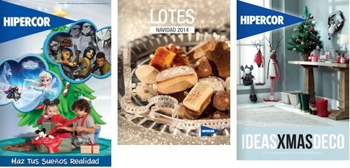 hipercor catalogos digitales navidad 2014 espana