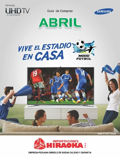 hiraoka catalogo abril 2014
