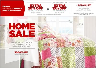 home sale jcpenney junio 2014