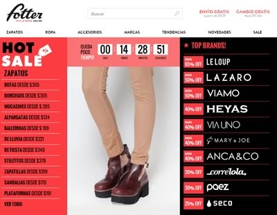 hot sale fotter 20 mayo 2014