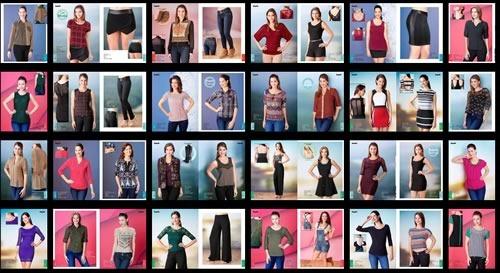 impuls catalogo ropa lenceria damas otono inviero 2014 2015 - ropa