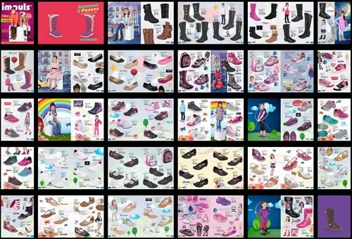 impuls catalogo zapatos ninas otono inviero 2014 2015 - zapatos