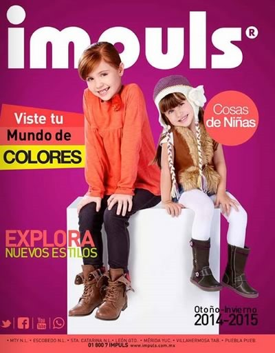 impuls catalogo zapatos ninas otono inviero 2014 2015