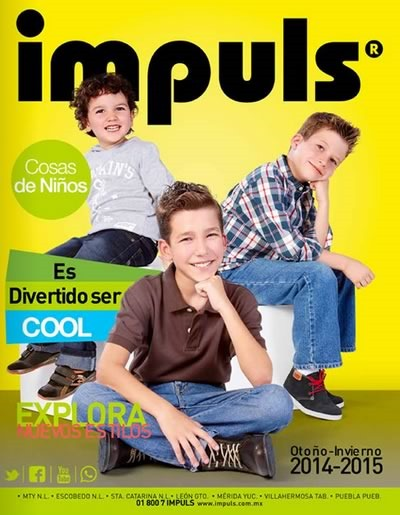 impuls catalogo zapatos ninos otono inviero 2014 2015