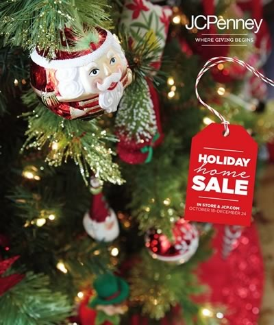 jcpenney catalogo holiday home sale navidad 2015