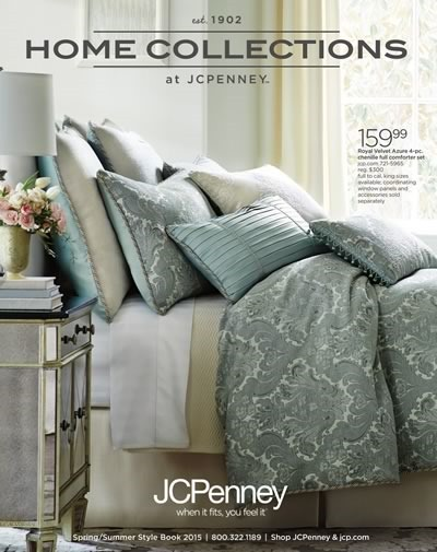 jcpenney catalogo home collections hasta agosto 2015