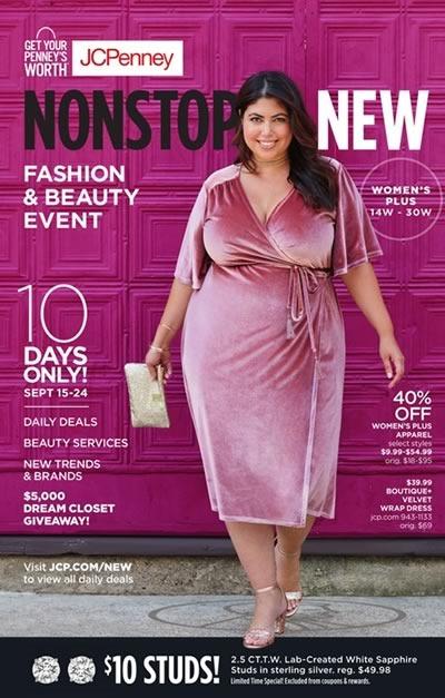 06661cab5 ... 2017 Catálogos y Ofertas Catálogos de Estados Unidos · jcpenney sale  womens plus fashion beauty event