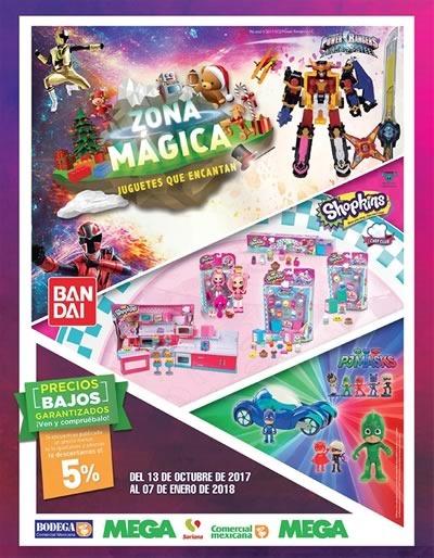 juguetes reyes magos 2018 zona magica comercial mexicana