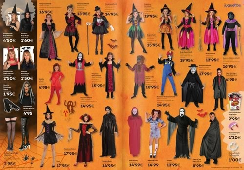 juguettos catalogo disfraz halloween 2015