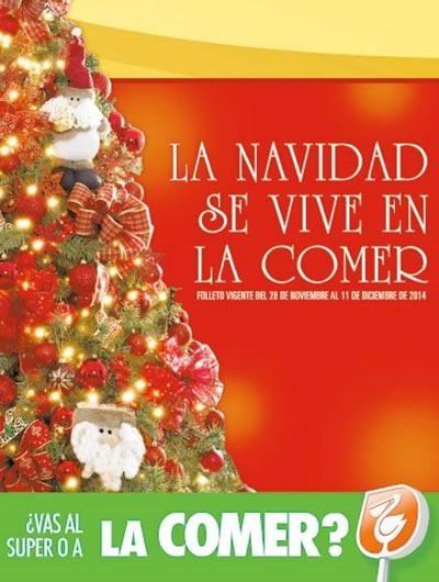 la comer folleto navidad 2014 mexico