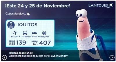 lan peru ofertas cyber monday 2014