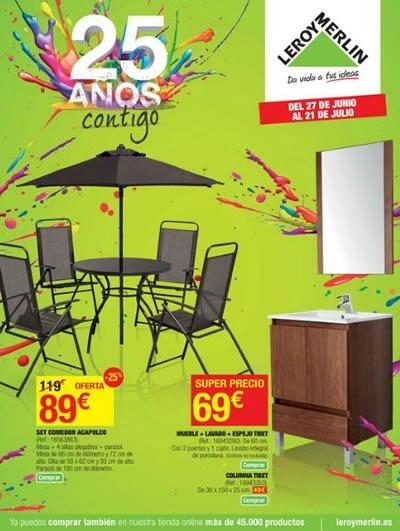 leroy merlin catalogo ofertas aniversario julio 2014