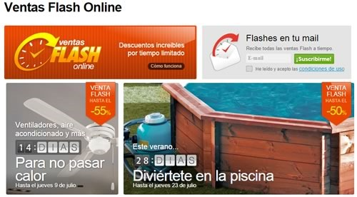 leroy merlin ventas flash online