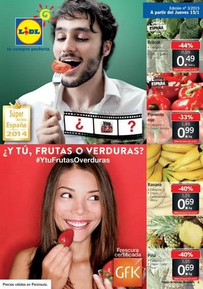 lidl folleto ofertas semanales 15 a 21 enero 2015 espana