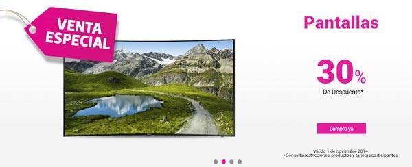 liverpool venta especial 1 noviembre 2014 - pantallas