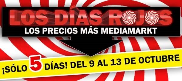 los dias rojos media markt del 9 al 13 octubre 2014