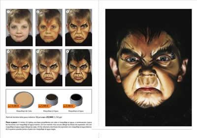 maquillaje de halloween profesional tutoriales paso a paso party fiesta 2013 4